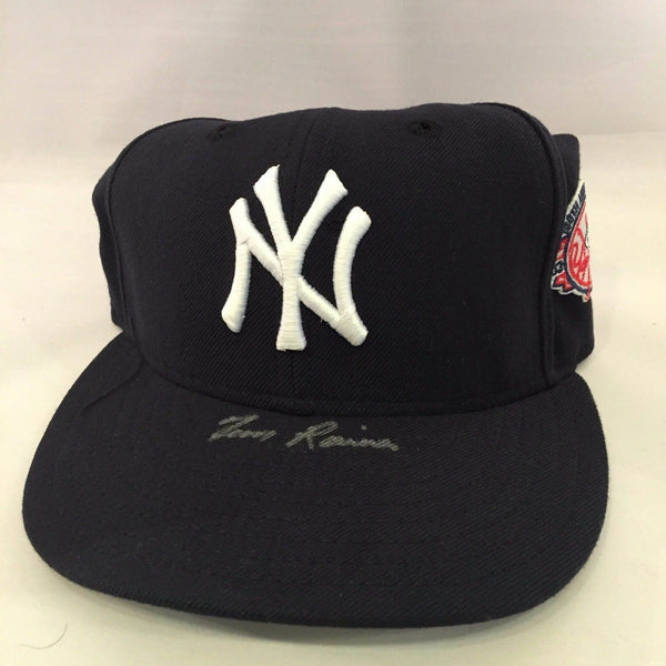 Tim Raines Signed Autographed Authentic NY Yankees Baseball Cap Hat PSA DNA COA
