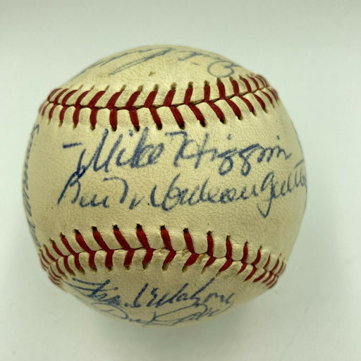 1962 Boston Red Sox Team Signed Official American League Baseball