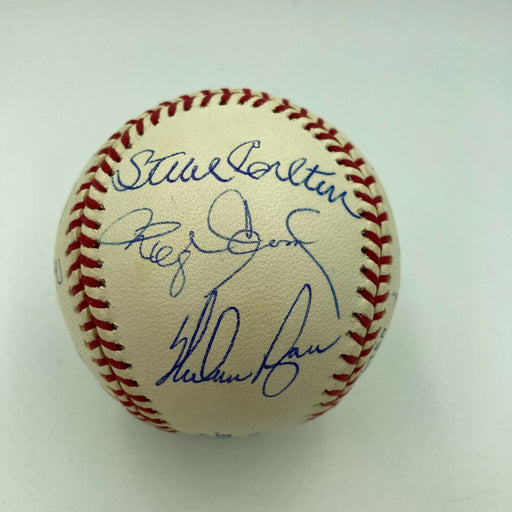 3,000 Strikeout Club Signed Baseball Nolan Ryan Tom Seaver Randy Johnson Tristar