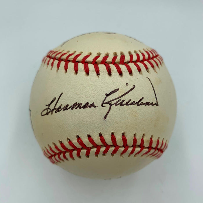 Harmon Killebrew Andy Carey Baseball Greats Signed American League Baseball