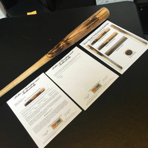 2012 Bryce Harper Game Used Louisville Slugger Rookie Season Bat PSA DNA COA