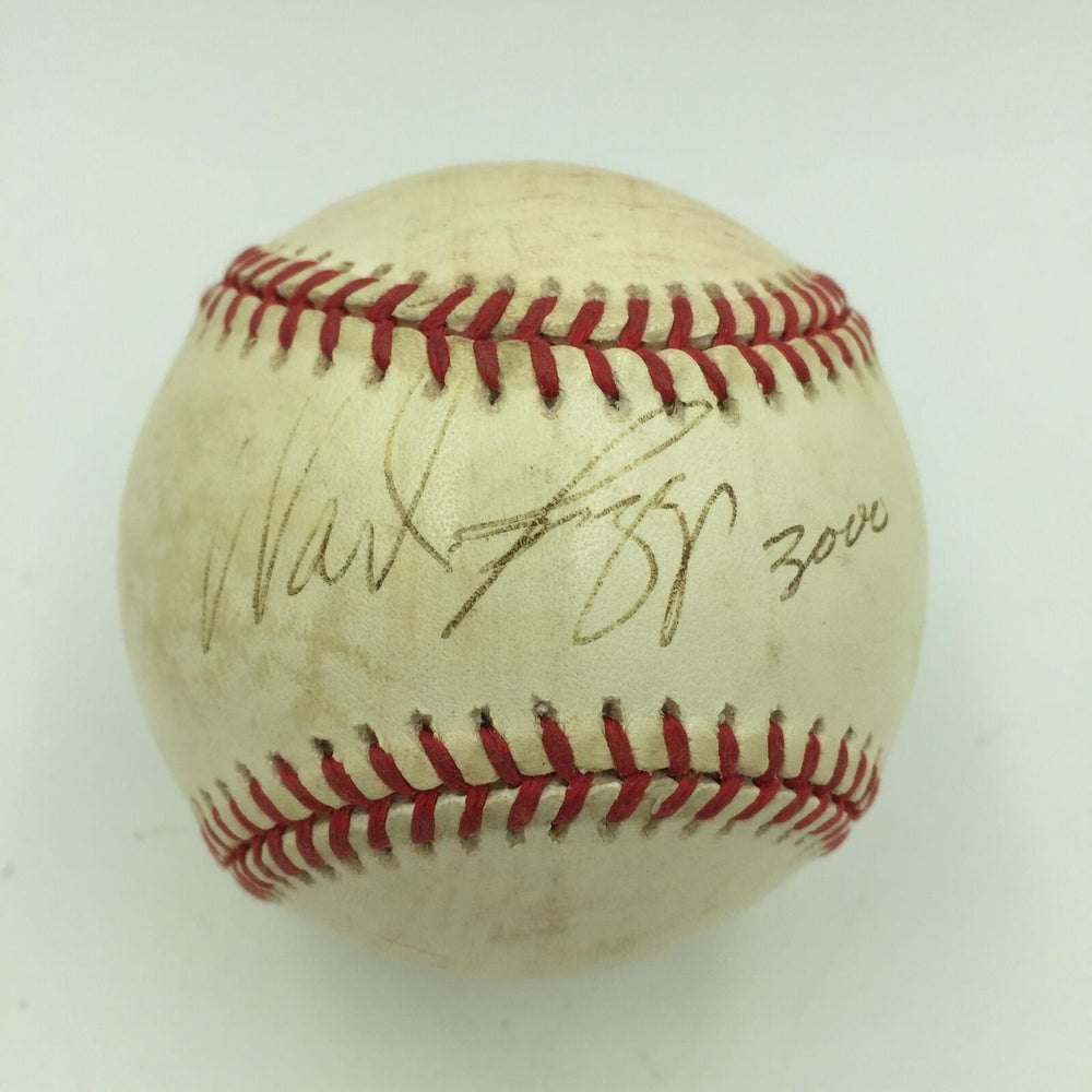 Wade Boggs Signed 3,000th Hit Game Used Baseball August 7, 1999 PSA DNA COA