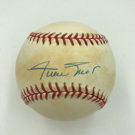Willie Mays Signed Jackie Robinson Commemorative National League Baseball PSA