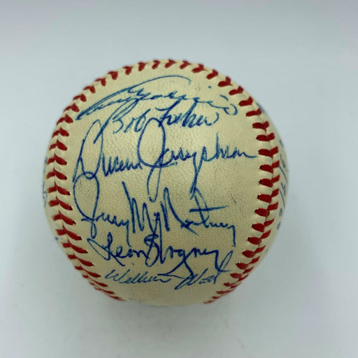 Beautiful 1968 Chicago White Sox Team Signed American League Baseball JSA COA
