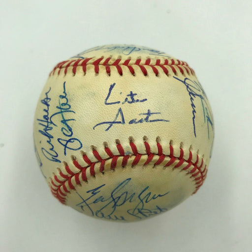 1992 Toronto Blue Jays World Series Champs Team Signed W.S. Baseball JSA COA
