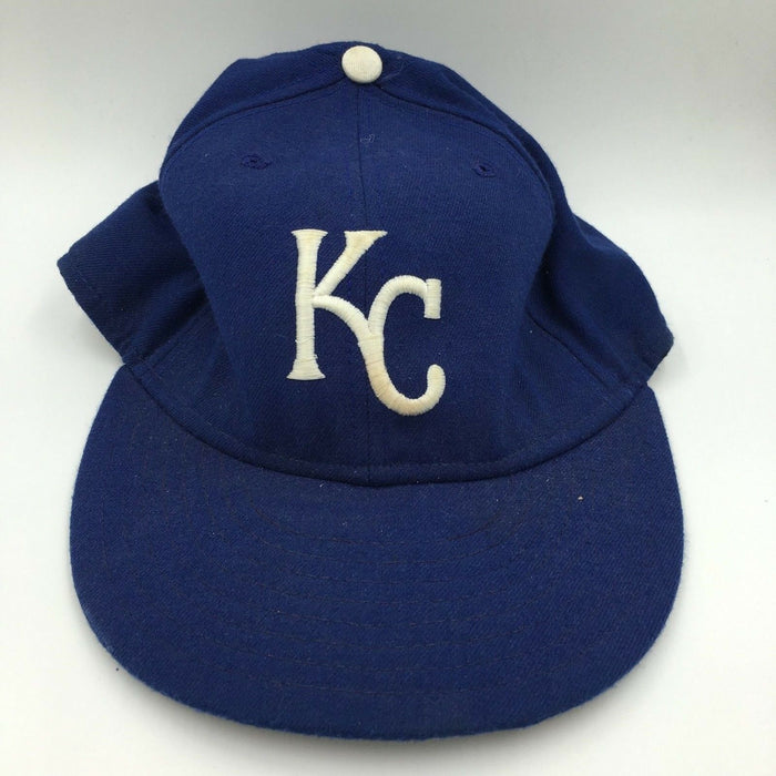 Rare 1987 Danny Tartabull Game Used Kansas City Royals Baseball Hat Cap
