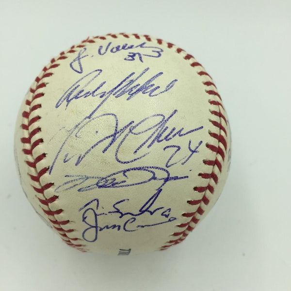 2004 Florida Marlins Team Signed Major League Baseball With Miguel Cabrera