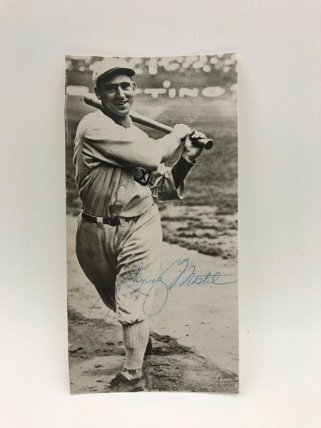 Rare Johnny Mostil Chicago White Sox Black Sox Signed Photo PSA DNA COA