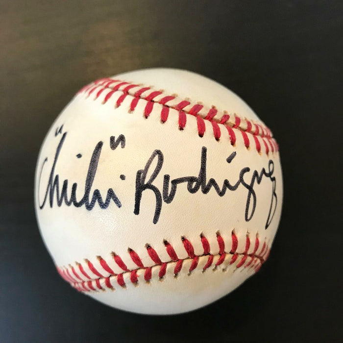 Chichi Rodriguez Signed Autographed Official Major League Baseball PGA Golf