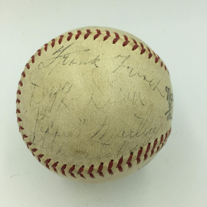 Rare 1936 St. Louis Cardinals Team Signed National League Baseball JSA COA