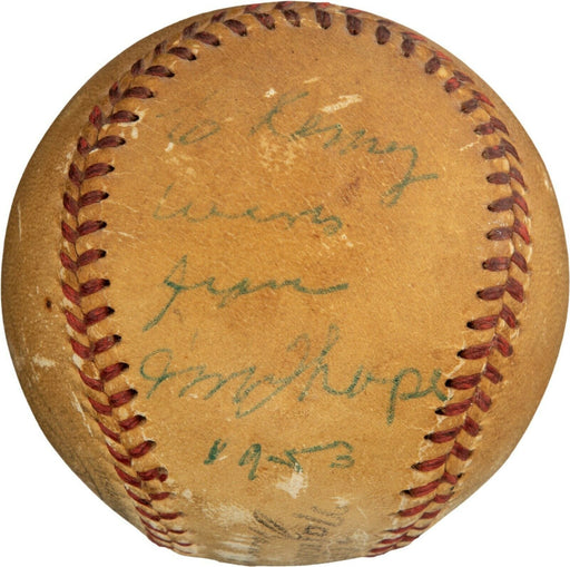 Jim Thorpe Single Signed Autographed National League Baseball With PSA DNA COA
