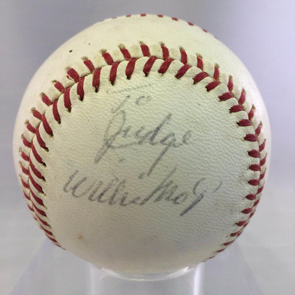 Early Career 1950's Willie Mays Signed National League Giles Baseball PSA DNA