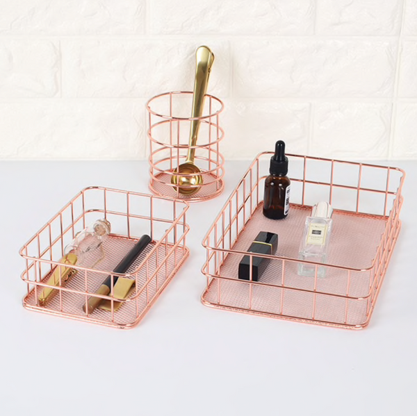 Artisan Rose Gold Framed Organizers