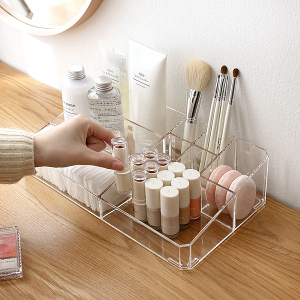 Luxe Acrylic Large Beauty Organizer