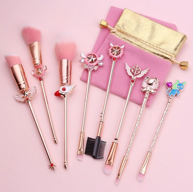 Fantasy 8 Piece Beauty Brush Set