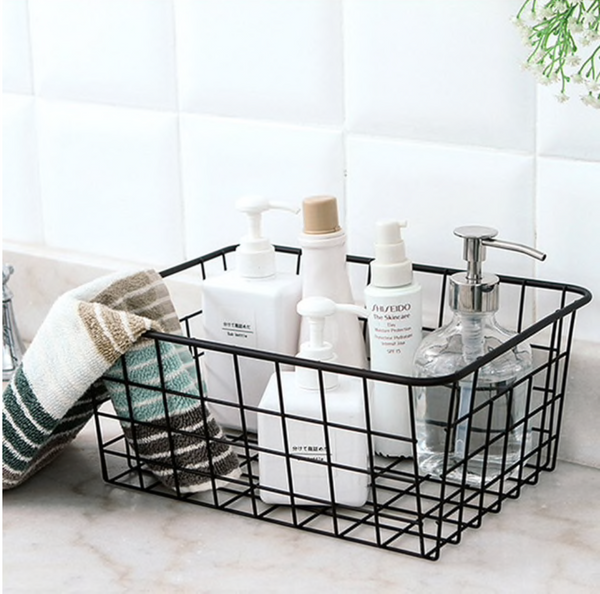 Daisy Metal Grid Storage Basket