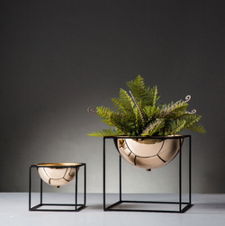 Dome Decor Planter With Stand