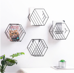 Nautica Hexagon Framed Wall Decor