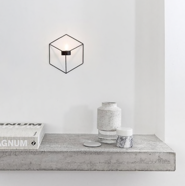 Noxin Wall Decor Candle Holder