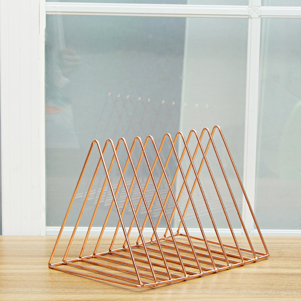 Triangular Grid Magazine / File Holder