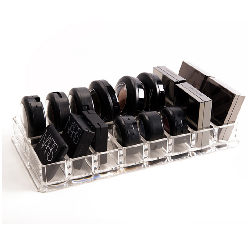 Luxe Acrylic Double Pallet Organizer