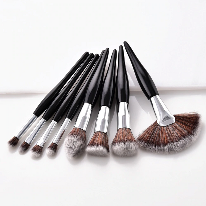 Elegance 8 Piece Face Brush Set