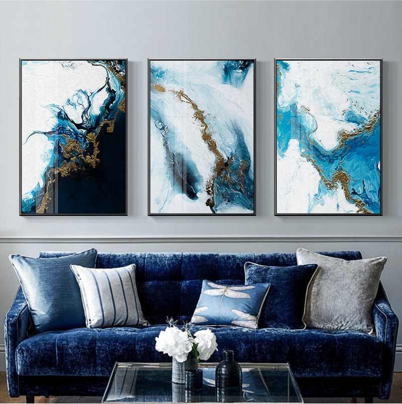 Nordic River Canvas