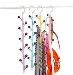 Leva Hanging Wardrobe Bag Hooks