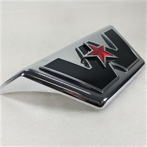 New Cosmetic Blemished Western Star Hood Emblem - Dent - P/N: A17-19639-000 (3939793731670)