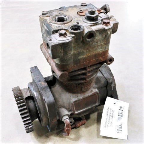Damaged Caterpillar C13 Air Compressor P/N: T-5011432 (4793050759254)