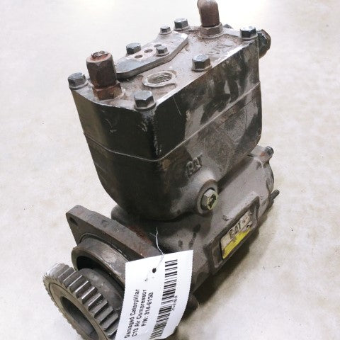 Damaged Caterpillar C13 Air Compressor P/N: 314-6150 (4770412953686)