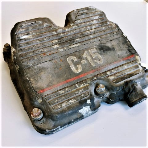 Caterpillar C-15 Valve Cover - P/N: 159-9349 (4779056857174)