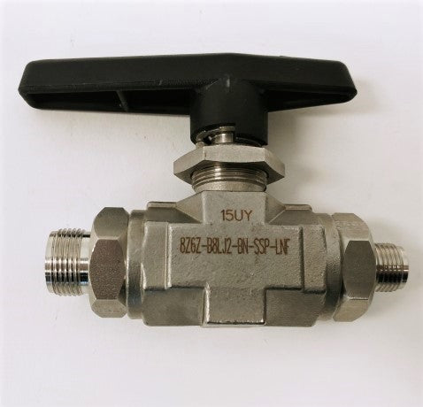 New Parker Stainless Inline 2-Way Ball Valve - 8Z6Z-B8LJ2-BN-SSP-LNF (4287058903126)