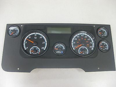 SD114 Instrument Dash Cluster w/ Trim Panel and Broken Glass P/N: A06-89975-000 (3939726622806)