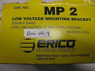 Erico Fastening Products MP2 Double Gang Plank Mounting Brackets (Set of 7) (3939666559062)