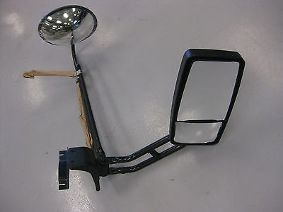 Rosco RH Dual Mirror Assy w/ Tinted Mini Hawk-Eye Mirror 3365T, Mirror Head M715 (4017910841430)