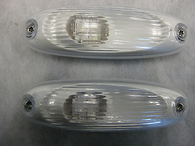 Freightliner LED Marker Lamps (Set of 2) w/ Mounting Bolts - P/N  A06-51912-001 (4023550672982)