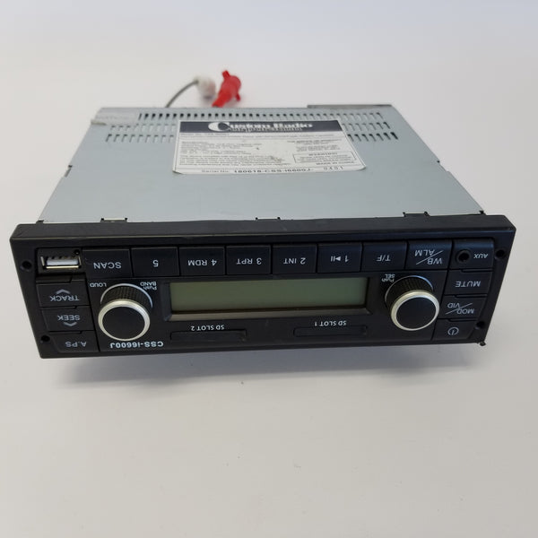 New Custom Radio Corporation Semi Truck Radio - Model No  CSS-i6600J (3961850691670)