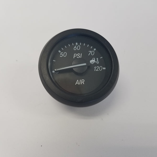 Freightliner Eng. Air Suspension Gauge - 2 Inch--Black - P/N  A22-72357-002 (4023616012374)