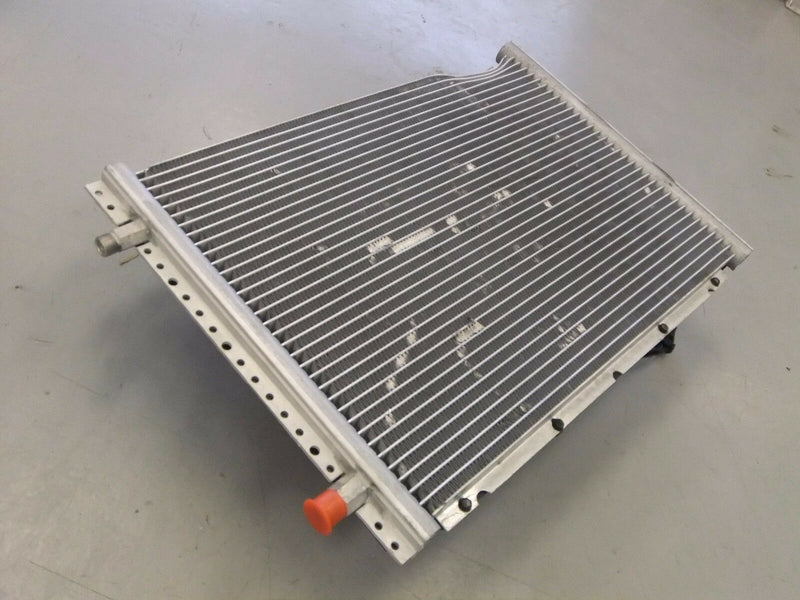 Damaged Evans AC Condenser with SPAL 12V Fan--P/N  22-62285-000, VA10-AP50/C 25S (3965134110806)