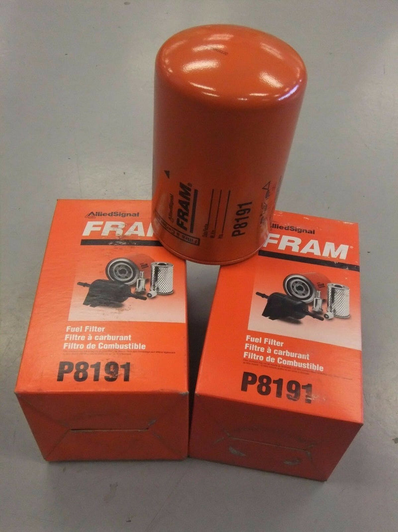 FRAM P8191 HEAVY DUTY FUEL FILTERS - SET OF 2 (3962852606038)