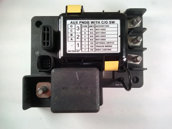Littelfuse Power Harness Junction Box Aux PNDB w/ C/O Sw - P/N A06-75208-007, A66-03715-007 (3939714924630)
