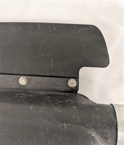 Used Freightliner RH Poly Quarter Fender (With Clamp) P/N  A22-58858-001 (5021321363542)