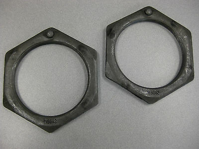 Eaton Wheel Bearing Inner Nuts (Set of 2) P/N  119882 (3939483091030)