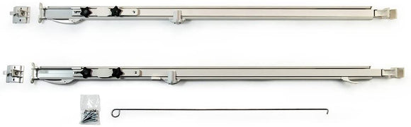 Carefree Fiesta White Manual RV Awning Arms Set