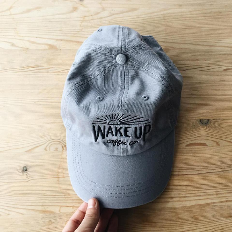 Wake Up Coffee Dad Hat