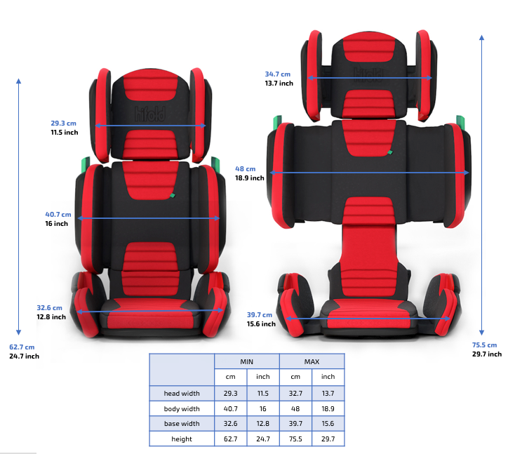 Astounding Hifold The Fit And Fold Booster Evergreenethics Interior Chair Design Evergreenethicsorg