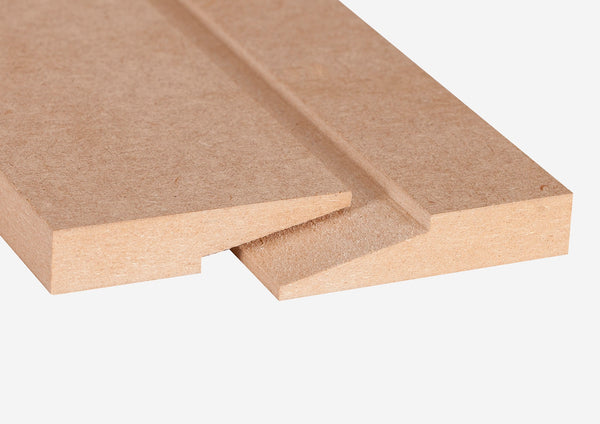 Wand montageset voor beton/steen (set voor 1 element tot 1.200 mm lang)