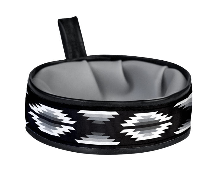 Blanket Black & White Trail Buddy Bowl
