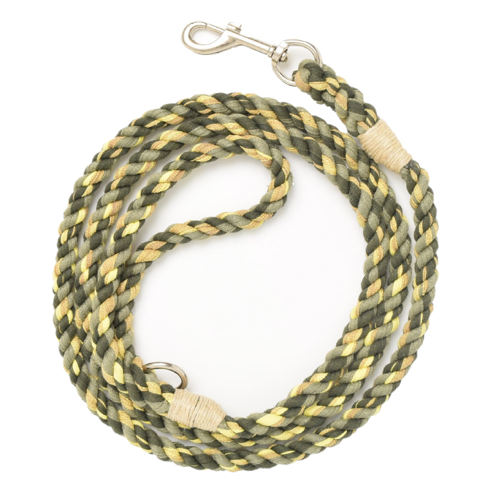 Mossy Green Artisan Leash